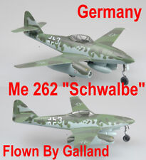 "Easy Model 1/72 Messerschmitt Me262 ""Schwalbe"" A-1a KG44 Flown By Gallanld#36369"
