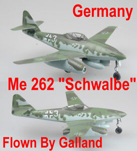 "Easy Model 1/72 Messerschmitt Me262 ""Schwalbe"" A-1a KG44 Flown By Gallanld#36369"