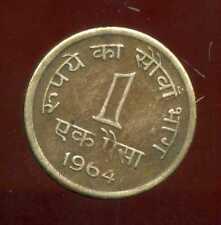 India 1 naya paisa 1964