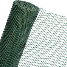 HaGa® Zaun in 1,3m Höhe Gartenzaun Kunststoffzaun Gitterzaun Bauzaun