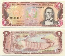 Dominican Republic 5 Pesos Oro 1990 UNC P-131