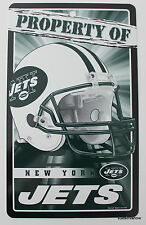 NFL Licensed New York Jets Property Sign Plastic Decor Football Game League