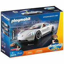 Playmobil 70078 Playmobil: The Movie Rex Dasher's Porsche Mission E RC Toy Car