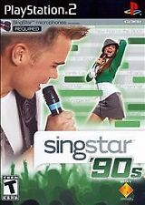 ***SINGSTAR 90'S PS2 PLAYSTATION 2 DISC ONLY~~~