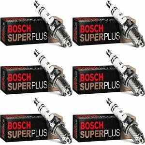 6 New Bosch Copper Core Spark Plugs For 1990 MASERATI 430I V6-2.8L