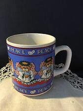 Lucy & me Lucy Rigg Enesco Teddy Bear Coffee Mug Cup Lot 4-A