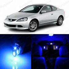 8 x Ultra Blue LED Interior Lights Package For 2002 - 2006 Acura RSX + PRY TOOL