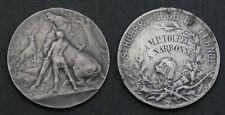 1 Médaille chasse Saint-Hubert Club de France en Argent ( 236 )