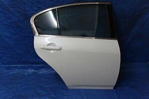 2007-2013 INFINITI G35 G25 G37 REAR RIGHT PASSENGER DOOR COMPLETE WHITE OEM