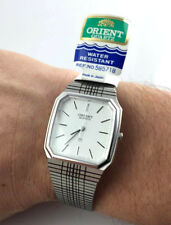 OROLOGIO VINTAGE ORIENT 585718 QUARTZ UNISEX JAPAN WATCH RELOJ NEW OLD STOCK