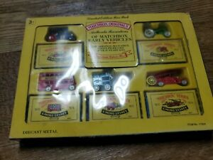 Matchbox Originals Early Vehicles Limited edition 5 Pack New MIB Item #11964