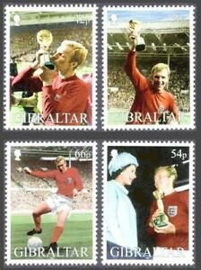 GIBRALTAR 2002 BOBBY MOORE / FOOTBALL CUP  MNH  ** SPORTS, SOCCER