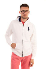 POLO RALPH LAUREN Hoodie Size XL / 18-20Y Embroidered Logo Long Sleeve Zip Front