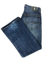 "Azzure ""The Perfect Fit"" Men's Medium Wash Jeans Straight Leg Size 34x34 (34x32)"