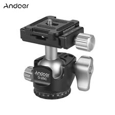 Andoer D-25C CNC Ball Head Mini Ballhead for Manfrotto Tripod Monopod M0K9