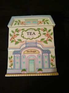 Lenox Village Collection Coffee And Tea Canister