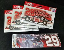 Kevin Harvick #29 Static Cling Lot plus Bumper Sticker Decal NASCAR Race Racing