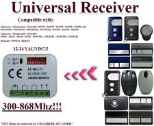 Universal receiver Compatible with Motorlift / HOMENTRY 433,92Mhz Remote control