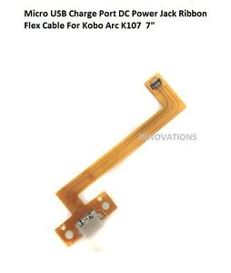 "7"" Micro USB Charging Port DC Jack Power Ribbon Flex Cable For Kobo Arc K107"
