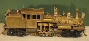 United (PFM?) Brass 2-Truck Shay OB