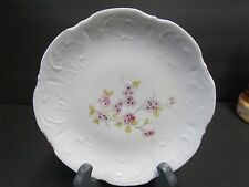 Vintage Cherry Blossom Dish White with Pink Blossoms
