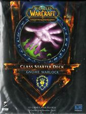 WOW WORLD OF WARCRAFT Class Starter Deck - Gnome Warlock NEW SEALED ENG
