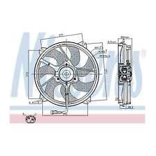 Fits Toyota Proace 1.6 D-4D Genuine Nissens Engine Cooling Radiator Fan