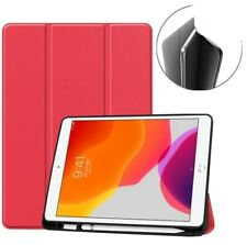 Dadanism All-New Amazon Kindle Fire 7 Tablet Case 9th Gen 2019 Red