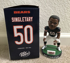 Chicago Bears Bobblehead Mike Singletary 100 Anniversary NFL giveaway - New