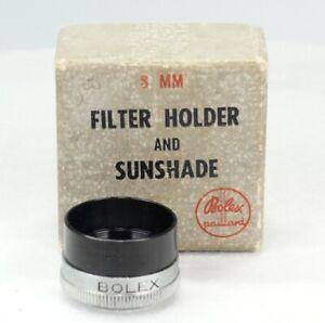 Bolex Paillard Hood And Filter Holder 20.5mm In Box