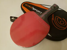 BOER Ping Pong Table Tennis Racket Paddle Bat (Long Handle) (Fast Shipping)