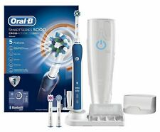 Oral-B SmartSeries 5000 CrossAction Bluetooth Electric Rechargeable Toothbrush