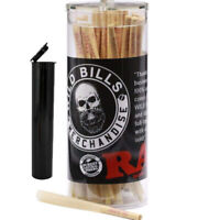 RAW Classic Lean Size Pre-Rolled Cones (100 Pack) + Raw Packing Sticks free TUBE