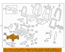 GM OEM Front Seat-Seat Track 22804418