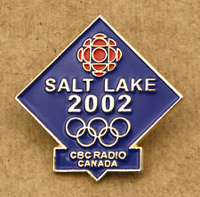 Salt Lake 2002 CBC Radio Canada Olympic Games Pin