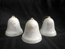 Precious Moments Christmas Bells from 1985, 3 Total