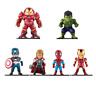 6 pcs Avengers Super Hero SET Action Figure Hulkbuster I-Man Thor Sp-n Hulk Cap