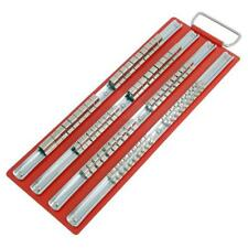"Socket Rail Tray Holder - holds up to 80 sockets - ¼"" ⅜"" ½"""