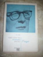 LERBET - CHE COSA HA VERAMENTE DETTO PIAGET - ED:UBALDINI - ANNO:1972 (LS)