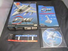 PC Game F-16 Multirole Fighter Big Box Version with Manual and Overlay