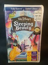 Disney's Masterpiece Sleeping Beauty VHS 1997 Fully Restored Limited Edition