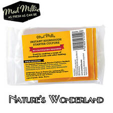 SOURDOUGH CULTURE Instant Starter Sachet - 3 pack with Lactobacillus -Mad Millie