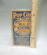 25 Vtg JOLLY TIME POPCORN Snack Movie Theater Bags 1950s NOS 5 Cent Sacks