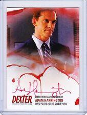 Dexter Season 5&6 Autograph Card AAH2 Adam Harrington