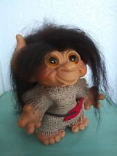 VINTAGE 1960'S DAM THINGS TROLL DOLL with tail