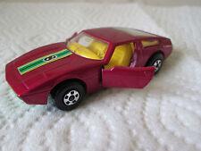 1972 Matchbox Superfast #8 Maserati Bora Sports Race Car #32 MINTY