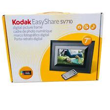 """Kodak EasyShare SV710 - 7"""" Digital Picture Frame EUC 128MB - Black"""