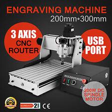 USB 3 Axes 3020T Fraiseuse Graveur Machine CNC Router Bois Engraving EXCELLENT