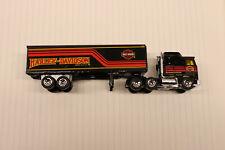 Matchbox Loose Kenworth COE w/ Trailer Harley-Davidson Semi Truck Used