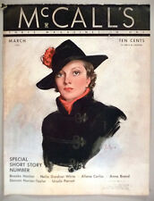 McCall's Magazine - March, 1935 ~ cover only ~ Neysa McMein art